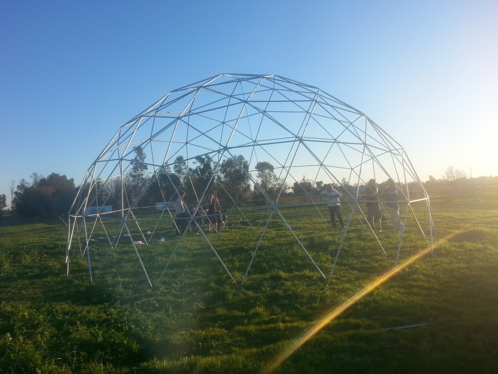 30ft 4v Geodesic Dome Frame