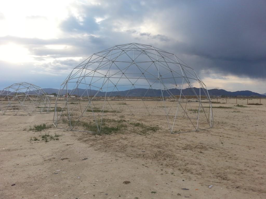 Geodesic Dome Greenhouse Aquaponics