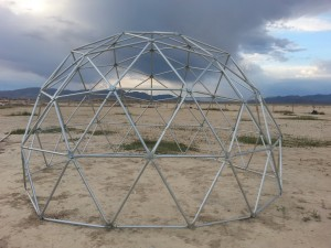 3v geodesic dome frame
