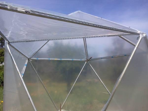 9ft 1v greenhouse